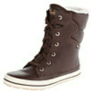 Keds Droplet Leather Brown